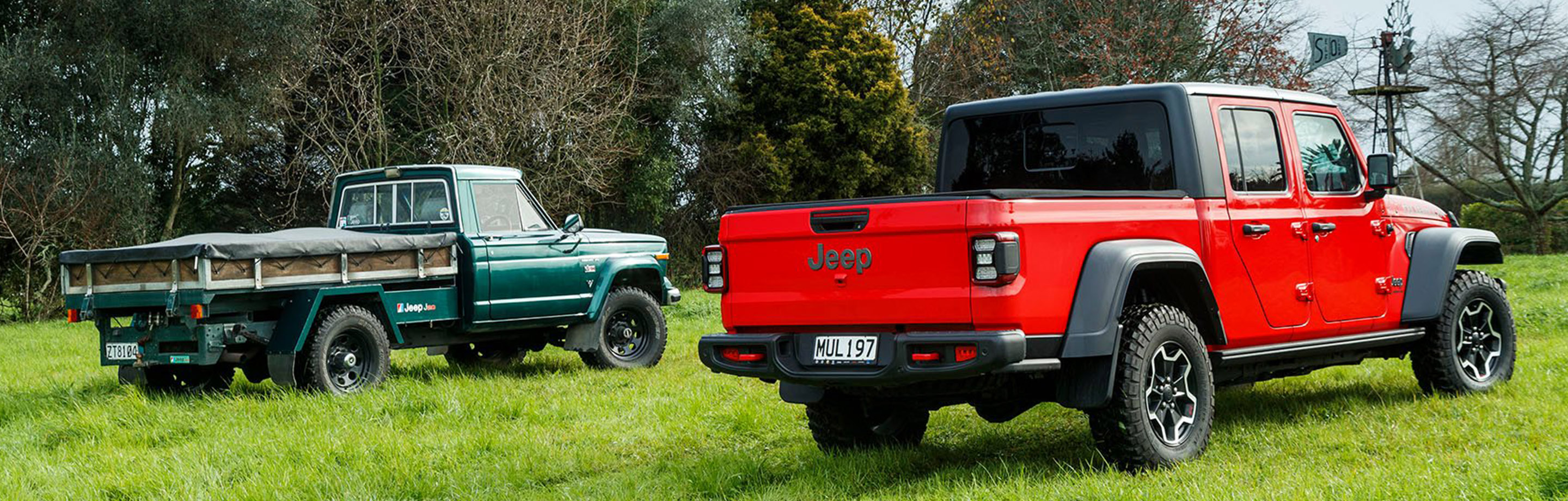 Jeep Gladiator meets the Gladiator J20