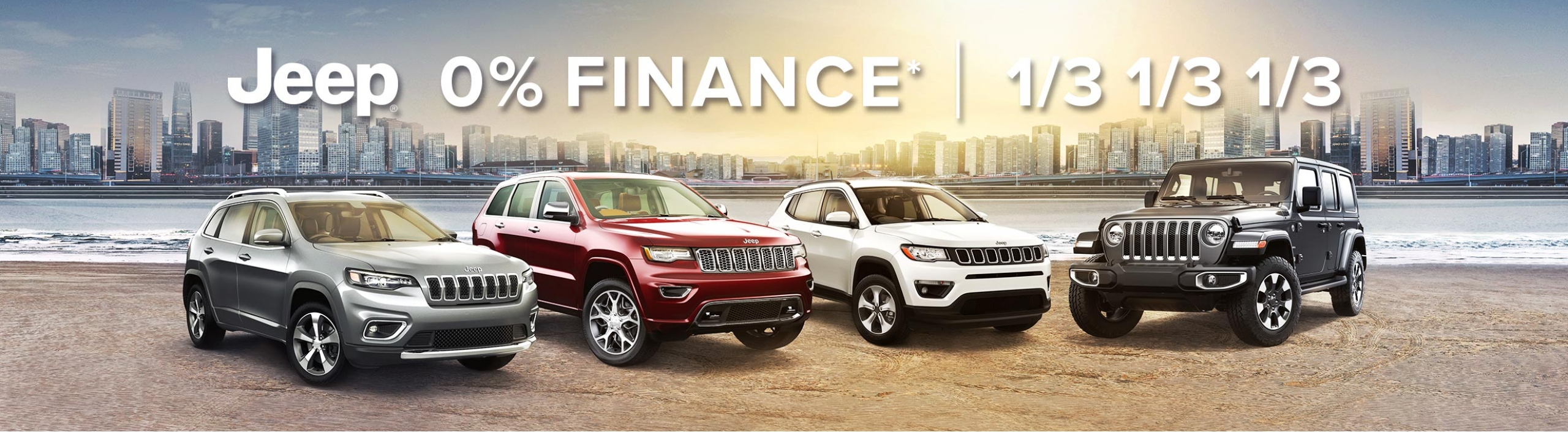 Jeep 0 Finance - Range